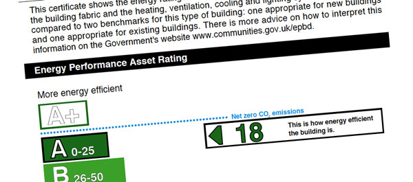 design - A rated EPCs